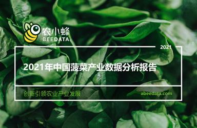 《农小蜂:2021年中国菠菜产业数据分析报告》