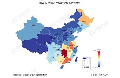 2021年中国大米行业产业链现状及区域市场格局分析 企业众多且市场集中度较高